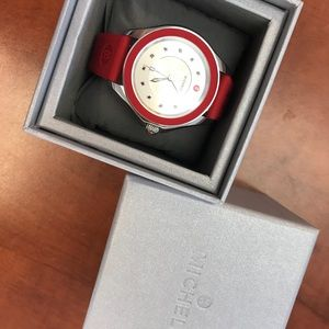 Michele Cape Cod Silicone Watch